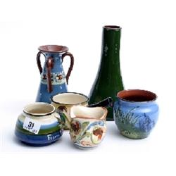 Interesting collection of West Country pottery to include Aller Vale, Watcombe, Long Park and other
