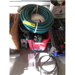 Bucket, Garden Hoses, Sprinklers and More