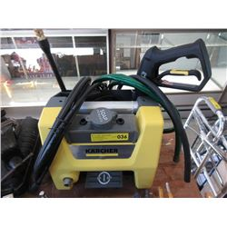 Karcher Electric Pressure Washer -1700psi