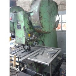 225B/80 88 Ton PEDDINGHAUS Deep Throat Single End Mech Punch *VIDEO AVAILABLE*