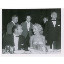 Marilyn Monroe and Robert F. Wagner