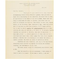 Erwin Schrodinger, John von Neumann, and Physicists Archive of (10) Letters