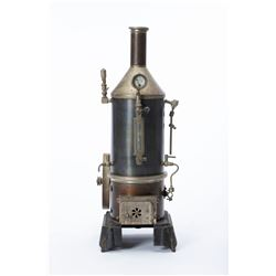 Antique German Steam Engine Model