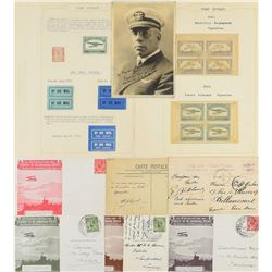 Air Mail Covers, Photographs, and Postcards