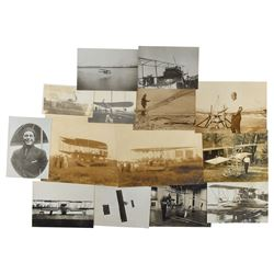American Aviation Pioneers Group of (14) Photographs