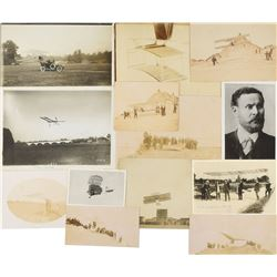 Early Gliders Group of (12) Photographs