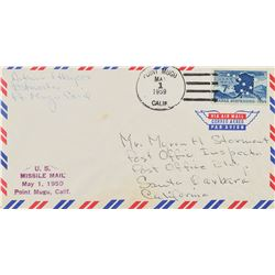 Flown Point Mugu Missile Mail Cover