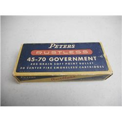 PETERS 45-70 GOVERNMENT AMMO