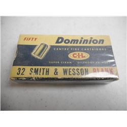 DOMINION 32 S & W BLANKS