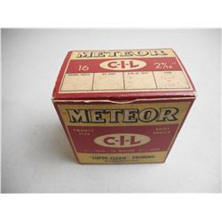 METEOR CIL 16 GAUGE 2 9/16 SHOT SHELL PRIMING AMMO
