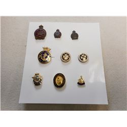 ASSORTED SERVICE PINS