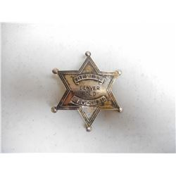 U.S. DEPUTY MARSHAL STAR BADGE