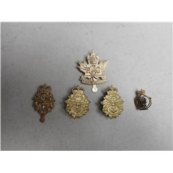 ROYAL CANADIAN ARMY CADET CAP/COLLAR BADGES