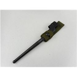 ENFIELD SPIKE BAYONET WITH SCABBARD & FROG
