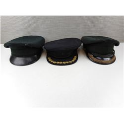 ASSORTED OFFICERS HATS