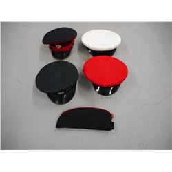 ASSORTED MILITARY OFFICERS HATS