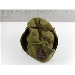 WOOL HAT WITH WWI HAT BADGE