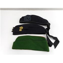ASSORTED SIDE HATS