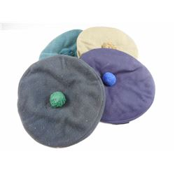 ASSORTED BERETS/ BALMORAL HATS