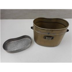 PRE WWII IMPERIAL JAPANESE MILITARY MESS KIT