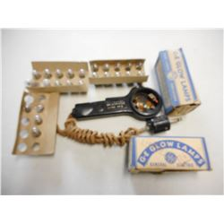 MILITARY WWII ELECTRIC PARTS