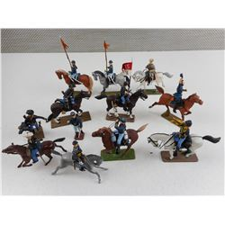ASSORTED MILITARY CALVARY MINITURES