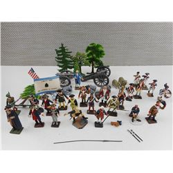 ASSORTED MILITARY/REVOLUTION MINITURES