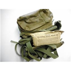 ASSORTED MILITARY OD GREEN KIT