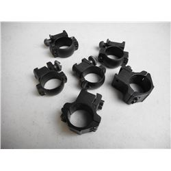 "ASSORTED 1"" SCOPE RINGS"