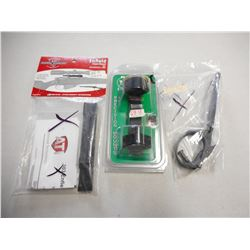 ASSORTED ENFIELD PARTS & SCOPE MOUNT