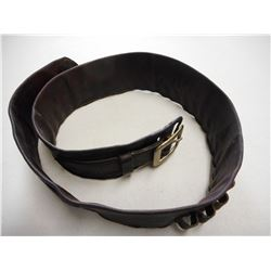 LEATHER MONEY CARTRIDGE BELT