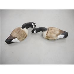 BROWN GOOSE SHELL DECOYS