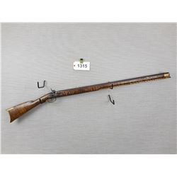 """MUZZLE LOADER , PERCUSSION  , 45CAL PERC  , APPROX 5"""" OF THE WOODEN RAM ROD IS STUCK IN THE BORE, BL"""