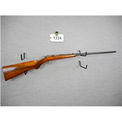 JG ANSHUTZ , SINGLE SHOT  , 22 LR , MISSING THE EXTRACTOR, STOCK IS CRACKED AT THE WRIST AND THE FOR