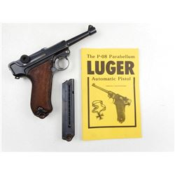 LUGER , MODEL: P08 , CALIBER: 7.65MM