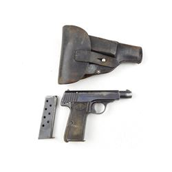 WWII ERA, WALTHER , MODEL: 4 , CALIBER: 7.65MM