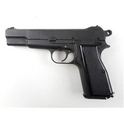 WWII ERA, BROWNING  , MODEL: 1935 HIGH POWER NO 2 MARK 1* , CALIBER: 9MM LUGER
