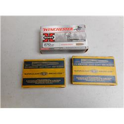 DOMINION .270 WINCHESTER AMMO, AND BRASS, 270 WINCHESTER SUPERX AMMO
