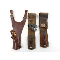 SWEDISH MAUSER LEATHER FROGS