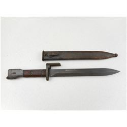 GERMAN FAL BAYONET WITH SCABBARD