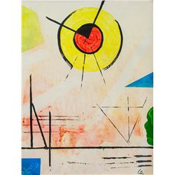 Oil Abstract Expressionist VK