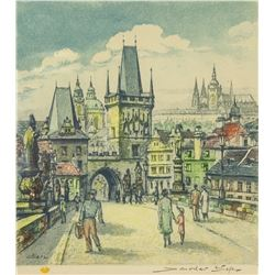 Lithograph Artist Signed