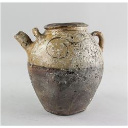 Chinese Old Pottery Pot from Shipwreck