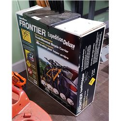 NEW IN BOX FRONTIER EXPEDITION DELUXE CAR BIKE CARRIER