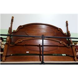 MAHOGANY KING SIZE BED