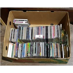 BOX LOT MISC CD'S