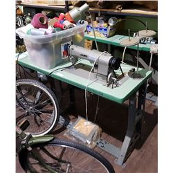 VINTAGE JUKI SEWING MACHINE & ACCESSORIES