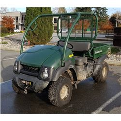 2006 KAWASAKI MULE 610 4X4 W/ATTACHMENT