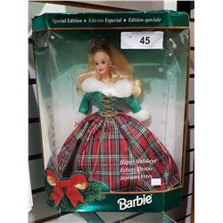 SPECIAL EDITION HAPPY HOLIDAYS BARBIE IN BOX