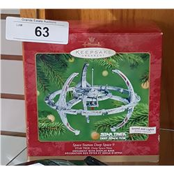 RARE NEW IN BOX HALLMARK STAR TREK SPACE STATION DEEP SPACE 9 CHRISTMAS ORNAMENT